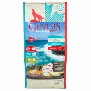 Genesis Pure Canada Blue Ocean Adult для взрослых собак всех пород с лососем, сельдью и курицей - 2,268 кг