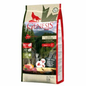 Genesis Pure Canada Deep Canyon Adult для взрослых собак всех пород с курицей, ягненком и козой - 2,268 кг