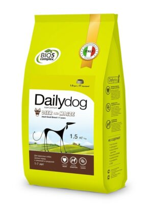 Сухой корм Dailydog для собак мелких пород с олениной и кукурузой - 1