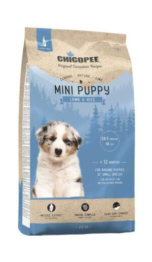 Chicopee CNL Mini Puppy Lamb & Rice сухой корм для щенков мелких пород с ягненком и рисом