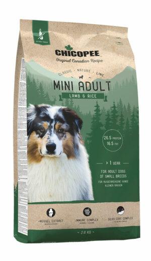 Chicopee CNL Mini Adult Lamb & Rice сухой корм для взрослых собак мелких пород с ягненком и рисом - 2 кг