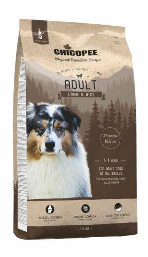 Chicopee CNL Adult Lamb & Rice сухой корм для взрослых собак всех пород с ягненком и рисом - 2 кг