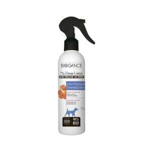 Очищающий BIO-лосьон Biogance No Rinse Lotion с экстрактом настурции для бережной сухой очистки шерсти собак (эффект чистой шерсти без мытья) - 250 мл