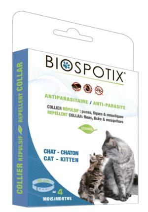 Biospotix Cat collar ошейник от блох и клещей для кошек 35 см