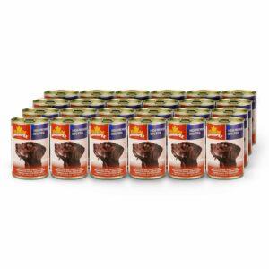 Chicopee Dog Chunks Meat консервы для собак всех пород и возрастов с кусочками говядины в соусе - 400 г
