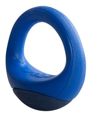 Rogz игрушка- ПопАпс, резина в форме бублика, тип ванька-встанька, 145 мм, PU04B, синий