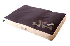 Rogz матрас для собак, 560 мм 350 мм 220 мм, TPS03, шоколад/беж