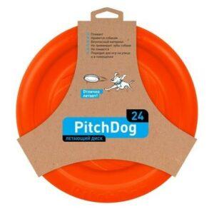 PitchDog летающий диск  оранжевый