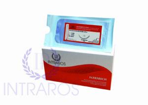 Синтетический  рассасывающийся шовный материал для ветеринарии ПОЛИДИОКСАНОН 3C