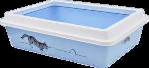 11082 туалет LUX с рамкой с рисунком 41*30*12 см