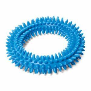 """Игрушка для собак из ц/литой резины """"Кольцо с шипами"""". 115мм"""