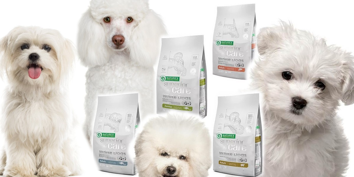 корм для белых собак