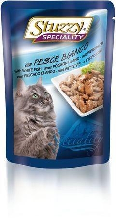 131.2503    STUZZY SPECIALITY CAT консервы для кошек с треской 100гр (24шт/упак)