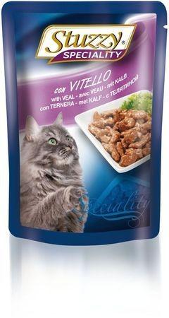 131.2506    STUZZY SPECIALITY CAT консервы для кошек с телятиной 100гр (24шт/упак)