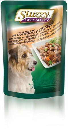 131.2571    STUZZY SPECIALITY DOG консервы для собак с кроликом и овощами 100гр (24шт/упак)