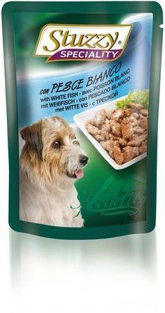 131.2572    STUZZY SPECIALITY DOG консервы для собак с треской 100гр (24шт/упак)