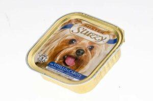 131.С253    MISTER STUZZY DOG консервы для собак 150г, с Телятиной и Морковью, алюпак (уп-22шт)