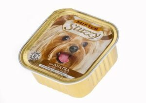 131.С257    MISTER STUZZY DOG консервы для собак 150г, с Уткой, алюпак (уп-22шт)