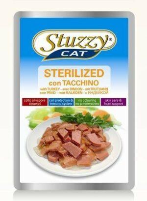 132.С2458    STUZZYCAT консервы для стерилиз./кастр. кошек 100гр (24шт/упак)