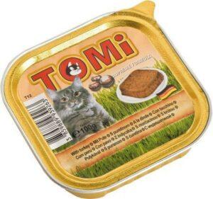 """""""TOMI"""" консервы для кошек 100г с индейкой    (уп-32 шт) Германия"""