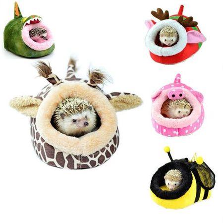 Домики в виде пчелки для ежей, крыс и свинок
