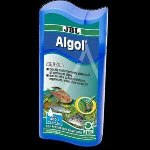 JBL Algol - Кондиционер для борьбы с водорослями в пресноводных аквариумах, 100 мл, на 400 л